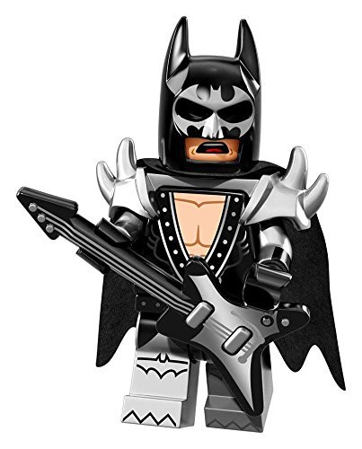 LEGO Batman Movie Series 1 Collectible Minifigure - Glam Metal Batman (71017) ()