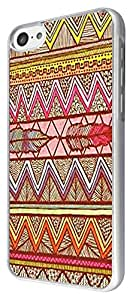 Iphone 5C Vintage Aztec Tribal colorfull Feather Design Fashion Trend Case Back Cover Metal and Hard Plastic Case