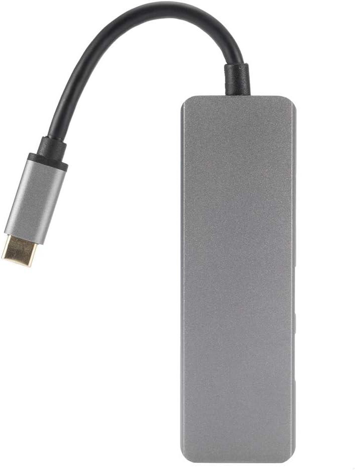 Type C to 4K HDMI USB 3.0 SD//Micro SD Hub Adapter for MacBook Thunderbol-t 3 hudiemm0B Type C to HDMI USB 3.0 Adapter