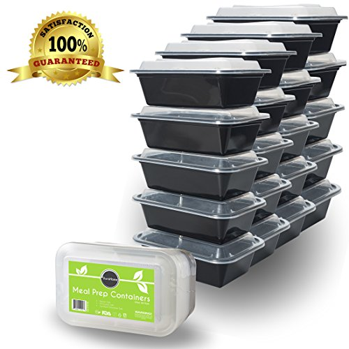 disposable plastic food containers deli food storage containers with lids 16 ounce 50 count. Black Bedroom Furniture Sets. Home Design Ideas