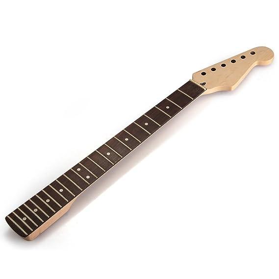 Mastil Mástil 22 Fret Arce para Guitarra Eléctrica Guitar Neck: Amazon.es: Juguetes y juegos