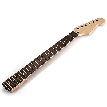 Mastil Mástil 22 Fret Arce para Guitarra Eléctrica Guitar Neck