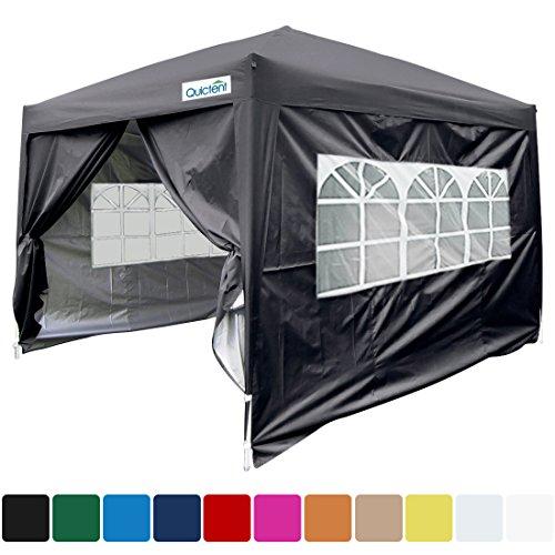 Quictent Silvox 10x10 EZ Pop Up Canopy Party Tent Instant Ga