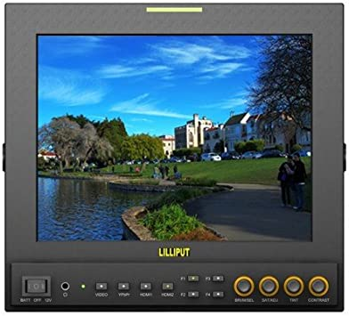 Lilliput 7 TFT LCD FPV Aerial Photography Monitor 5.8GHz Wireless Receiver