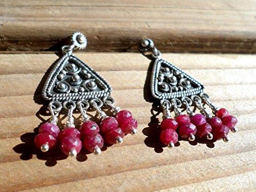 Ruby Lane Jewelry (Ruby Earrings and Bali Silver)