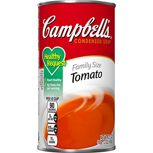 Campbell's Healthy Request Condensed Soup, Tomato, 23.2 Ounce (Pack of 12) (Campbells Tomato Soup)