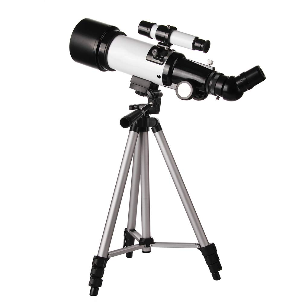 HD high Power Low Light Level Night Vision Telescope, 3X Magnification Lens 20mm Eyepiece 9mm Objective Lens Professional Star Telescope, HD Low Light Night Vision Astronomical View by Monocular