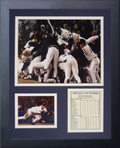 Legenden Sterben Nie 1996 New York Yankees gerahmtes Foto Collage, 11 x 35,6 cm von Legends Never Die