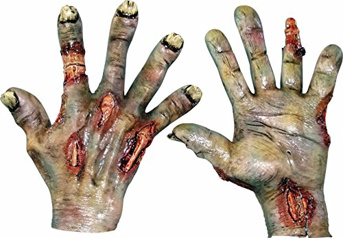 Zombie Rotted Hands Costume (Zombie Adult Gloves)