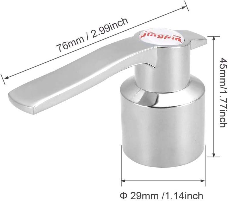 Faucet Lever Handle 28mm Dia Universal Single Lever Handle Replacement 2 Pcs