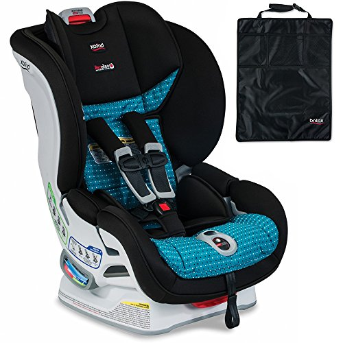Britax USA Marathon ClickTight Convertible Car Seat, Oasis & Kick Mats, 2-Count Set
