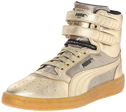 (PUMA Women's Sky ii hi Metallic WN's-w, Gold, 7.5 B US)