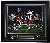 #6: Brandon Graham Signed Framed 16x20 Eagles SB 52 LII Strip Sack Photo Fanatics