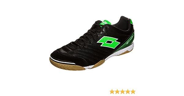 Amazon.com | Lotto Mens Stadio 300 ID Soccer Sneakers, Black, 8 M | Fashion Sneakers