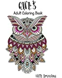 Owls: Adult Coloring Book