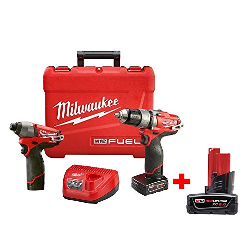 12v milwaukee fuel hammer drill - 2