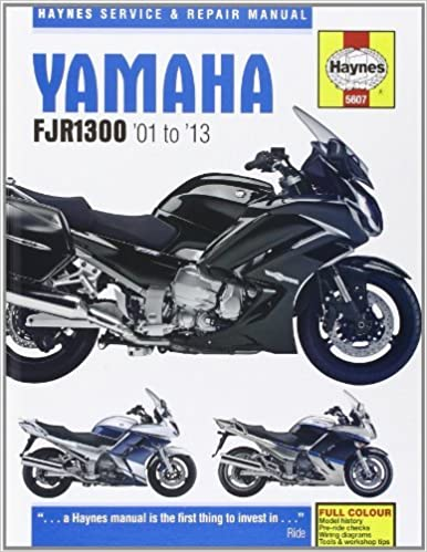 Yamaha 2016 fjr1300 service manual.