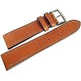 Di-Modell Jumbo 22mm Tan Leather Watch Strap