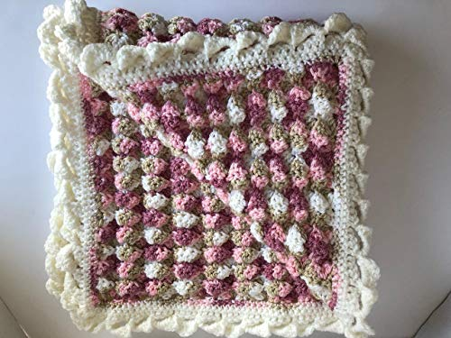 - Handmade, New, Baby Blanket measures 28
