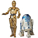 MAFEX No.012 Star Wars The Force Awakens C-3PO & R2-D2 Action Figure Medicom Toy Mafekkusu Non-Scale ABS & ATBC-PVC-Painted