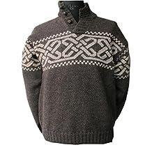 Mens Celtic Wool Sweater