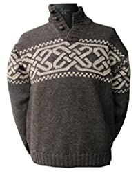 Mens Celtic Wool Sweater