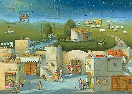 Komm mit uns nach Bethlehem: Biblischer Adventskalender
