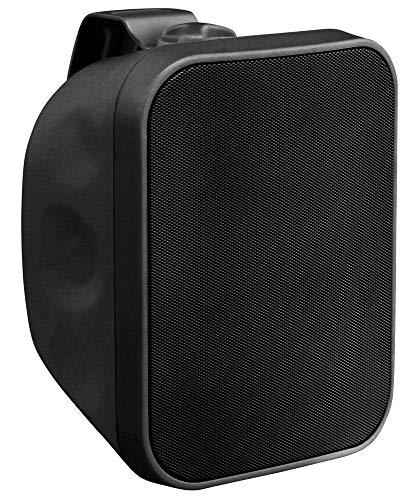 Pronomic OLS-5 BK DJ PA outdoor luidspreker voor tuin, terras, restaurant (120 watt, beschermingsklasse IP56, 8 Ohm, 5…