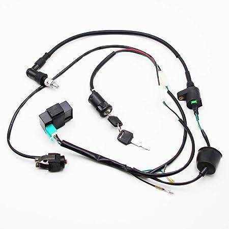 Amazon Com Wire Loom Cdi Ignition Coil Kill Switch Key Switch C7hsa