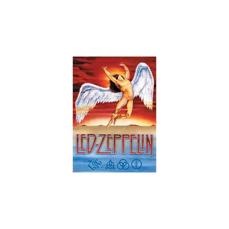 Led Zeppelin   Swan Song   Poster (38.5x53.5)