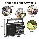 AM FM Portable Radio Transistor Radio with 3.5mm