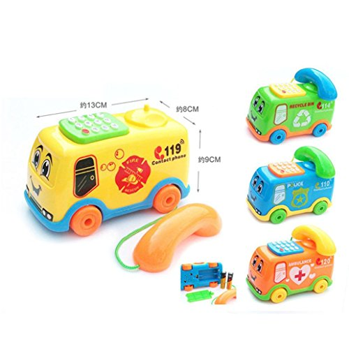 Gotd Music Bus Phone Educational Developmental Toy Gifts