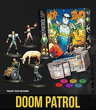 Knight Models Juego de Mesa - Miniaturas Resina DC Comics Superheroe - Batman Bat-Box Doom Patrol Resin: Amazon.es: Juguetes y juegos