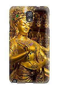 Excellent Design Hindu Deity Durga Phone Case For Galaxy Note 3 Premium Tpu Case