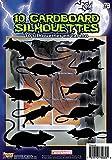 Forum Novelties 10 Piece Silhouette Shadow Rats, Black
