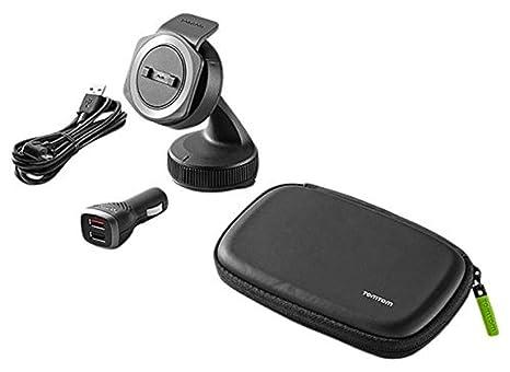 Amazon.com: Soporte de coche para TomTom Rider 40/400 USB ...