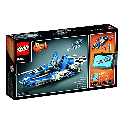 Lego Technic - Hydroplane Racer - Age 8-14 - 180 Pieces - 42045 (Hydroplane Boat)