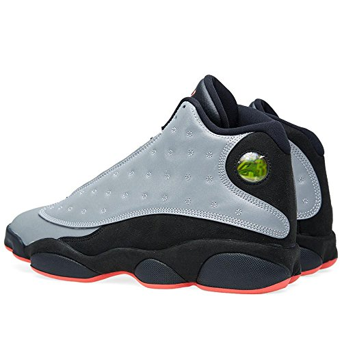 "Nike Herren Air Jordan 13 Retro PRM ""3M Reflektierende"" Synthetische Basketballschuhe"