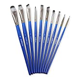 Craftamo Paint Brush Set. 10 Professional Paint