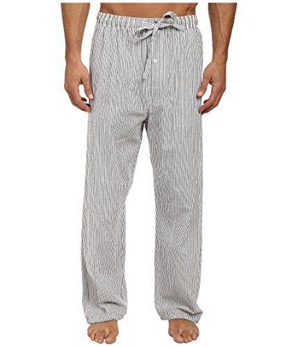 U.S. Polo Assn. Men's Woven Seersucker Pant Classic Navy Medium 30 (Low Rise Elastic Waist Pant)