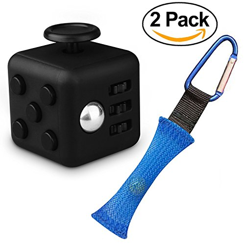 Fidget-Cube-with-Keychain-Mesh-and-Marble-Toy-Perfect-For-ADD-ADHD-Anxiety-and-Autism-Adult-Children-by-Everlong-Fidgets