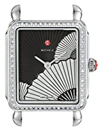 MICHELE Women's Swiss Quartz Stainless Steel Automatic Watch, Color:Silver-Toned (Model: MW06I01A1089)