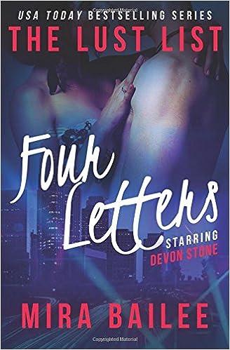 Four Letters: The Lust List: Devon Stone: Volume 4