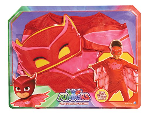 PJ Masks Dress up Set Owlette, Red ()