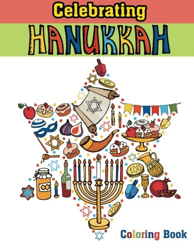 Celebrating Hanukkah Coloring Book