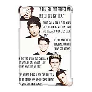Custom New Case for Ipad Mini 3D, One Direction Quotes Phone Case - HL-536750
