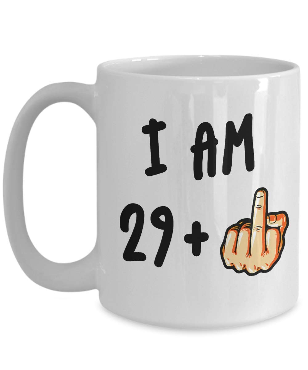 Funny 30th Birthday Gift For Women And Men Turning 30 Years Old Coffee Mug Best Adult