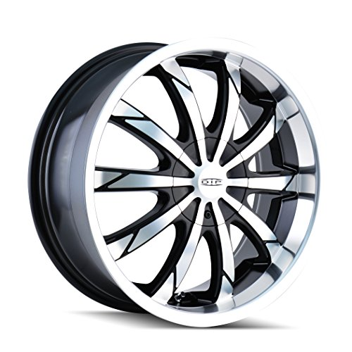 DIP Slack D66 Black Wheel with Machined  - Toyota Celica Alloy Wheels Shopping Results