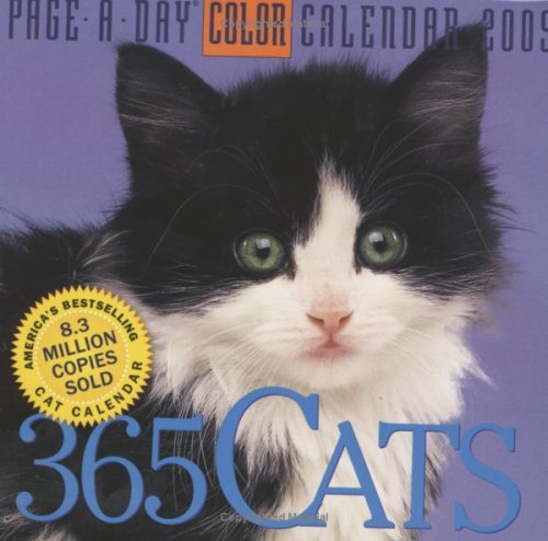 365 Cats Page-A-Day Calendar 2009 (Color Page-A-Day(r) Calendars)