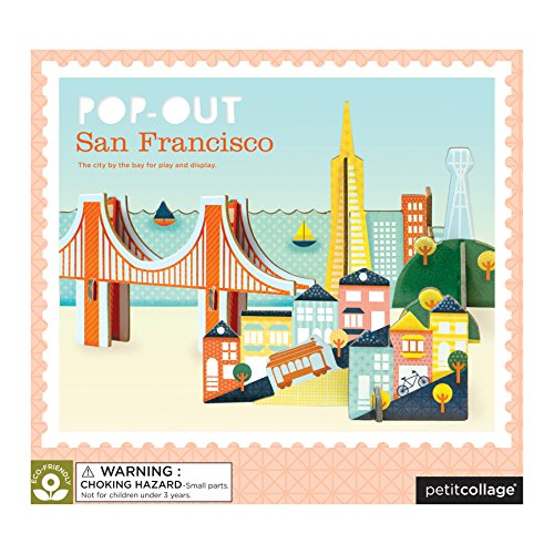 Petit Collage Pop-Out and Build, San Francisco